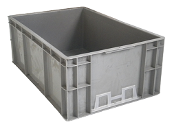 EU-4622欧标塑料周转箱 可上看板夹 汽车行业